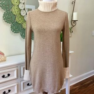 Magaschoni Tan Cashmere Sweater Dress - R